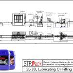 Аутоматска линија за пуњење уља 5Л-30Л