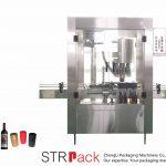 Аутоматска машина за стезање алуминијумске капице са 4 главе