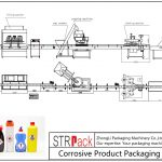 Аутоматска корозивна линија за паковање производа