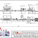 Аутоматска линија за пуњење хербицидима