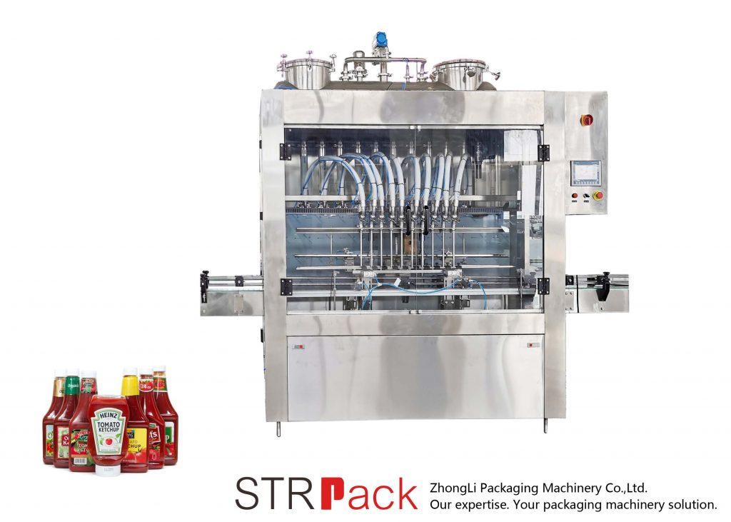 Аутоматска машина за пуњење соса