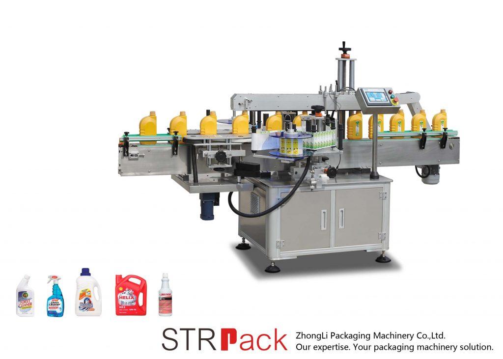Аутоматска једнострука / двострана самолепилна машина за етикетирање