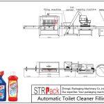 Аутоматска линија за пуњење чишћења тоалета