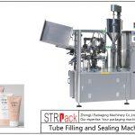 Машина за пуњење и затварање пластичних цеви за СФС-100