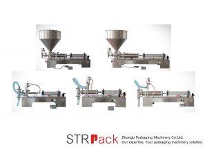 Полутоматска машина за пуњење течних клипа