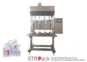 Полутоматска машина за течно пуњење течног времена